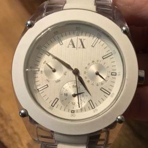 White A/X Watch